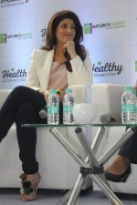 Twinkle Khanna during the launch of Godrej Nature_s Basket Healthy Alternatives products in Mumbai on 27th Sept 2016 (24)_57ec01a513daf.JPG