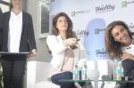 Twinkle Khanna during the launch of Godrej Nature_s Basket Healthy Alternatives products in Mumbai on 27th Sept 2016 (25)_57ec01a5bbe88.JPG