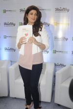 Twinkle Khanna during the launch of Godrej Nature_s Basket Healthy Alternatives products in Mumbai on 27th Sept 2016 (53)_57ec01b9c85a4.JPG