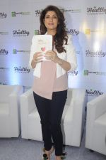 Twinkle Khanna during the launch of Godrej Nature_s Basket Healthy Alternatives products in Mumbai on 27th Sept 2016 (55)_57ec01bba1ac0.JPG