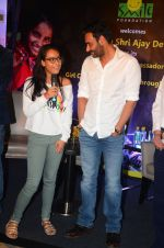 Ajay Devgan at smile foundation event with daughter Nysa on 28th Sept 2016 (65)_57ecb3b7b4bcf.JPG
