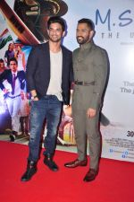 Mahendra Singh Dhoni, Sushant Singh Rajput at MS Dhoni premiere in Mumbai on 29th Sept 2016 (88)_57ee344b2afdc.JPG