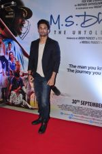Sushant Singh Rajput at MS Dhoni premiere in Mumbai on 29th Sept 2016 (25)_57ee344eb885d.JPG