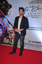 Sushant Singh Rajput at MS Dhoni premiere in Mumbai on 29th Sept 2016 (26)_57ee344f6acee.JPG