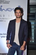 Sushant Singh Rajput at MS Dhoni premiere in Mumbai on 29th Sept 2016 (30)_57ee34529941d.JPG