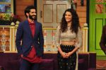 Harshvardhan Kapoor, Saiyami Kher promotes Mirzya on the sets of The Kapil Sharma Show on 30th Sept 2016 (66)_57f0ec3677d19.JPG