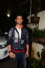 Sushant Singh Rajput at M S Dhoni film Screening on 30th Sept 2016 (13)_57f0ee091e22a.JPG