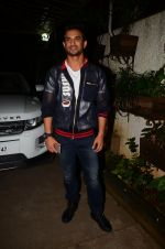Sushant Singh Rajput at M S Dhoni film Screening on 30th Sept 2016 (14)_57f0ee09eead3.JPG
