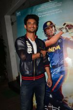 Sushant Singh Rajput at M S Dhoni film Screening on 30th Sept 2016 (17)_57f0ee2e392ed.JPG