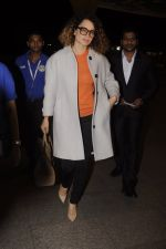 Kangana Ranaut leaves for 2 month to usa for simean movie shoot on 3rd Oct 2016 (1)_57f3a6e9c9152.JPG