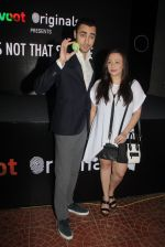 Imran Khan, Avantika Malik at the screening of It�s Not That Simple on 3rd Oct 2016 (35)_57f486cd35fa5.JPG