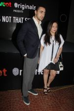 Imran Khan, Avantika Malik at the screening of It�s Not That Simple on 3rd Oct 2016 (37)_57f486d56182c.JPG