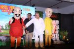 Gulzar, Vishal Bharadwaj at the music launch of Motu Patlu-bKing of Kings 3D on 4th Oct 2016 (26)_57f5c4b31fdc8.JPG