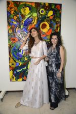 Shilpa Shetty at Anu Malhotra art exhibition in Mumbai on 5th Oct 2016 (120)_57f5e574341ba.JPG