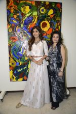 Shilpa Shetty at Anu Malhotra art exhibition in Mumbai on 5th Oct 2016 (121)_57f5e584182e9.JPG