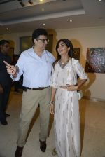 Shilpa Shetty at Anu Malhotra art exhibition in Mumbai on 5th Oct 2016 (150)_57f5e5678f1bc.JPG