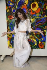 Shilpa Shetty at Anu Malhotra art exhibition in Mumbai on 5th Oct 2016 (84)_57f5e36755bdb.JPG