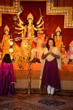 Sushmita Sen snapped at durga pooja on 7th Oct 2016 (33)_57f88b3dc5e26.JPG