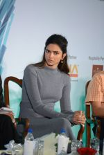 Deepika Padukone at together against depression event on 10th Oct 2016 (11)_57fb77354b5ff.JPG