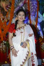 Sharbani Mukherjee at Durga Pooja on 8th Oct 2016 (24)_57fb1a825abd6.JPG