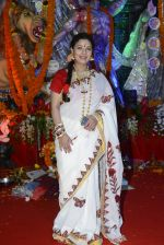 Sharbani Mukherjee at Durga Pooja on 8th Oct 2016 (26)_57fb1a9aeb35a.JPG