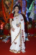 Sharbani Mukherjee at Durga Pooja on 8th Oct 2016 (20)_57fb17aff2050.JPG