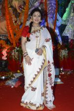 Sharbani Mukherjee at Durga Pooja on 8th Oct 2016 (23)_57fb1a787484a.JPG