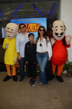 Sonali Bendre, Goldie Behl at Motu Patlu screening in Mumbai on 9th Oct 2016 (81)_57fb748ee6816.JPG