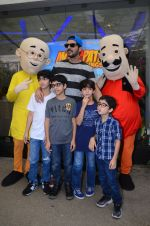 Zayed Khan at Motu Patlu screening in Mumbai on 9th Oct 2016 (36)_57fb752460b7f.JPG