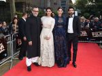 Harshvardhan Kapoor, Saiyami Kher, Sonam Kapoor, Rakesh Mehra at Mirzya premiere in BFI London Film festival on 10th Oct 2016 (101)_57fc9480bad16.JPG