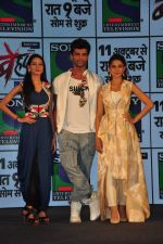 Jennifer Winget, Kushal Tandon, Aneri Vajani at Sony_s new show Behad launch on 10th Oct 2016 (103)_57fc94468355d.JPG