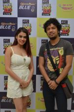 Papon and Shalmali Kholgade at the Announcement Of Mirchi Top 20 Concert on 10th Oct 2016 (39)_57fc8688b9f3d.JPG