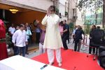 Amitabh Bachchan celebrates his birthday with media on 11th Oct 2016 (80)_57fdce79c6960.JPG