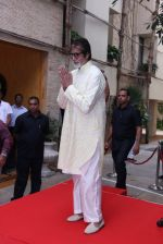 Amitabh Bachchan celebrates his birthday with media on 11th Oct 2016 (89)_57fdcf3f3267c.JPG