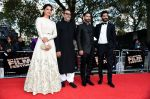 Harshvardhan Kapoor, Saiyami Kher, Rakesh Mehra at Mirzya premiere in BFI London Film festival on 10th Oct 2016 (75)_57fdc235cb993.JPG
