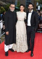 Harshvardhan Kapoor, Saiyami Kher, Rakesh Mehra at Mirzya premiere in BFI London Film festival on 10th Oct 2016 (80)_57fdc24463b8d.JPG