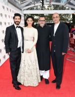 Harshvardhan Kapoor, Saiyami Kher, Rakesh Mehra at Mirzya premiere in BFI London Film festival on 10th Oct 2016 (88)_57fdc289975de.JPG
