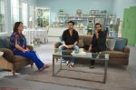 Zayed Khan with Reitesh on the sets of his mom_s food show on 13th Oct 2016 (31)_5800c356be568.JPG