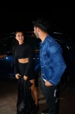 Jacqueline Fernandez, Varun Dhawan during the success party of the film Dishoom on 14th Oct 2016 (37)_580228495ab98.JPG