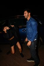 Jacqueline Fernandez, Varun Dhawan during the success party of the film Dishoom on 14th Oct 2016 (38)_5802274c4c09c.JPG
