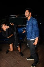 Jacqueline Fernandez, Varun Dhawan during the success party of the film Dishoom on 14th Oct 2016 (39)_5802284ea3b59.JPG