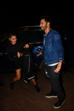 Jacqueline Fernandez, Varun Dhawan during the success party of the film Dishoom on 14th Oct 2016 (40)_5802275086656.JPG