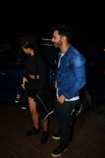 Jacqueline Fernandez, Varun Dhawan during the success party of the film Dishoom on 14th Oct 2016 (41)_58022853039c3.JPG