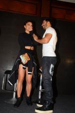 Jacqueline Fernandez, Varun Dhawan during the success party of the film Dishoom on 14th Oct 2016 (69)_580227760ba12.JPG