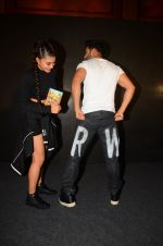 Jacqueline Fernandez, Varun Dhawan during the success party of the film Dishoom on 14th Oct 2016 (73)_5802278246869.JPG