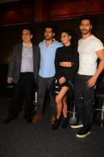 Rohit Dhawan, Jacqueline Fernandez, Varun Dhawan during the success party of the film Dishoom on 14th Oct 2016 (57)_580229496a819.JPG