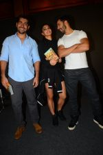 Rohit Dhawan, Jacqueline Fernandez, Varun Dhawan during the success party of the film Dishoom on 14th Oct 2016 (92)_58022965594fc.JPG