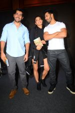 Rohit Dhawan, Jacqueline Fernandez, Varun Dhawan during the success party of the film Dishoom on 14th Oct 2016 (93)_580227c9f0d74.JPG