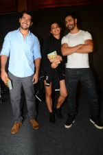 Rohit Dhawan, Jacqueline Fernandez, Varun Dhawan during the success party of the film Dishoom on 14th Oct 2016 (94)_580228c283ffa.JPG
