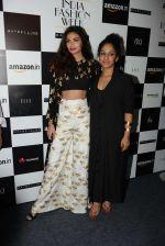 Athiya Shetty walks for Masaba at Amazon India Fashion Week on 15th Oct 2016 (55)_5804a2ffe4188.jpg